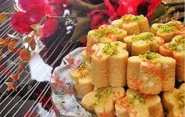 قیمت شیرینی نخودچی در بازار عمده فروشان