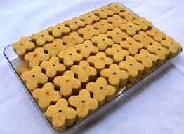 سفارش تولید شیرینی نخودچی قالبی